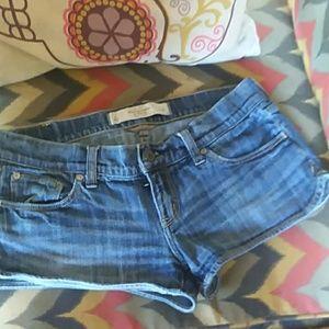 Ladies blue Jean shorts